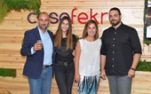 October 25, 2017- casafekra, renowned for devising comprehensive furniture solutions, celebrated its partner-clients and achievements, and launched its new human-centric positioning.  The event was densely packed by a wide array of invitees comprising casafekra's clients, prospects, and suppliers, in addition to industry figures, bankers, and the media, as well as bloggers and influencers.